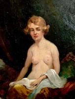 Ismeretlen festő: Női akt