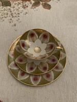 Winterling Röslau( bavaria) 3 darabos gyűjtői porcelán teás+sütis