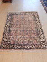 Kashmir selyem-gyapjú szőnyeg.kézi csomózású.