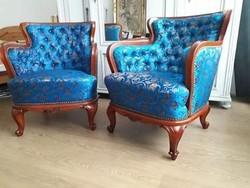Bécsi barokk fotelek felújítva