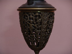 Fantasztikus angol dekoratív petróleum lámpa