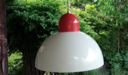 Retro, műanyag mennyezeti lámpa