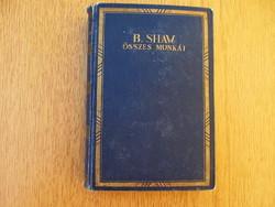 ~1930 Bernard Shaw összes munkái - Athenaeum Irodalmi és Nyomdai R.-T.  - Vissza Matuzsálemhez