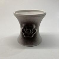 Kerámia tolltartó, szárazvirágnak való váza