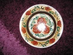 Régi, porcelán tányér 22,5cm /87/, jelzett