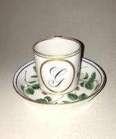 Altwien porcelán kávés csésze  - 1825