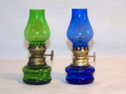 Mini petróleum lámpák