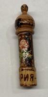 Bolgár rózsaolaj tartó, régi darab