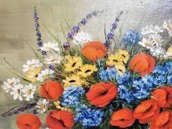 Mesterházy Dénes virágcsendélet