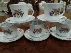 Rózsás Kávés csésze
