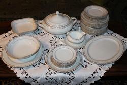 Elegáns csehszlovák étkészlet 31 részes