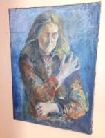 Antik festmény - ismeretlen művész