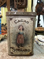 Suchard cacao pléh doboz