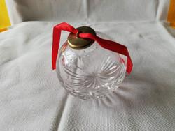Ajka kristály karácsonyfa dísz