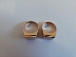 Arany férfi pecsétgyűrűk. 14K