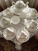Duchess Tranquillity angol porcelán reggeliző készlet
