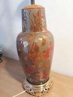Zsolnay antik asztali lámpa eladó