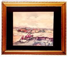Nyilasy Sándor (1873 - 1934) - Liba úsztatás