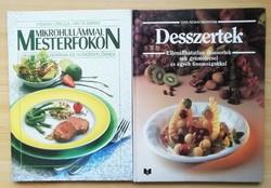 Két szakácskönyv ínyenceknek - Mikrohullámmal mesterfokon, Desszertek