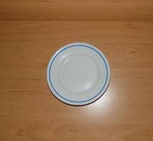 Zsolnay porcelán kék szélű kistányér 18,5 cm (2p)