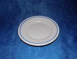 Zsolnay porcelán kék szélű kistányér 18 cm (2p)