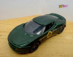 Matchbox Sports Cars Lotus Evora, 2007 sötétzöld metál eredeti Mattel termék újszerű állapotban.