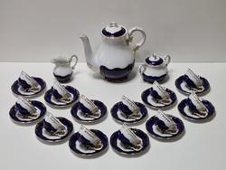 Zsolnay Pompadour III Mokkás / Kávéskészlet 12 személyes