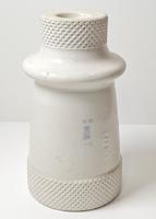 Zsolnay antik, nagyméretű porcelán elektromos szigetelő