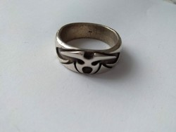 Férfi ezüstgyűrű