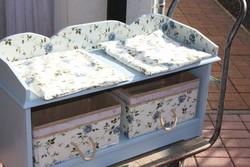 2 személyes pad tárolódobozokkal
