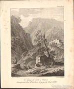 Bacler d'Albe festő és G.Engelmann litográfiája