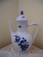 Bajor porcelán kancsó kék virágos Magassága 27x20x25 cm