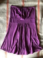 Ann Cristine lila női pánt nélküli ruha felső