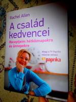 Rachel Allen Szakácskönyve ( TV paprika adásaiban) eredeti ára 5580 Ft