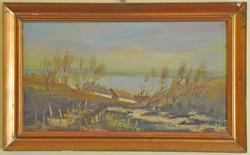 Hévizi Éva festménye