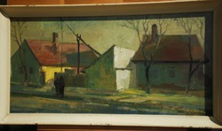 Gádor Emil (1911-1998) : Falurészlet