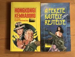 2 db Rapcsányi László könyv - A fekete kastély rejtélye / Hongkongi kémháború és más kémtörténetek
