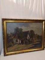 Gyönyörű Németh György festmény 60 cm x 80 cm