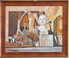 Megyeri-Horváth Gábor festménye