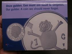 Az utolsó Gulden 2001 UNC