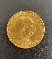 Ferenc József 20 korona arany 1915