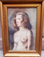 István Élesdy: half-naked