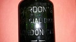 Angol, Cordon's Special Dry London Gin feliratú palackzöld üveg