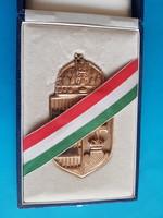 Aranyozott magyar címer