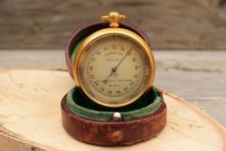 Antik Lufft Altiméter / Barométer / Magasságmérő / Régi / Eredeti Tokjában