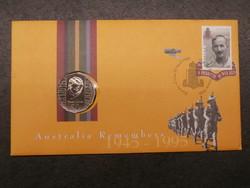 Ausztrália 50 cent érmés boríték