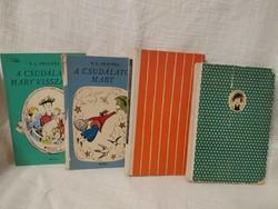 A csudálatos Mary, A csudálatos Mary visszaté, Szamóca lányok és Florentine 4 könyv egyben