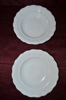 2 db Zsolnay paraszt mély tányér  ( DBZ 00113 )