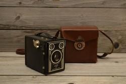 Régi AGFA Synchro Box / fényképezőgép doboz / Régi / Retró