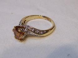 KK882 Elegáns aranyozott gyűrű